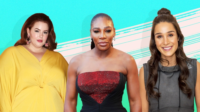 Serena Williams, Tess Holliday and Kayla