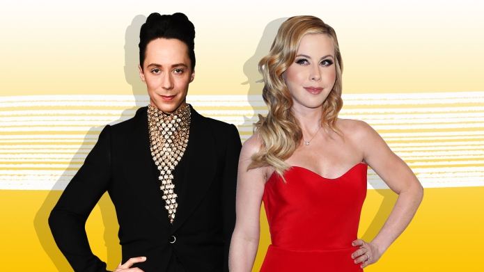 Johnny Weir & Tara Lipinski Have 'Something in the Works' — Is It a New Talk Show?