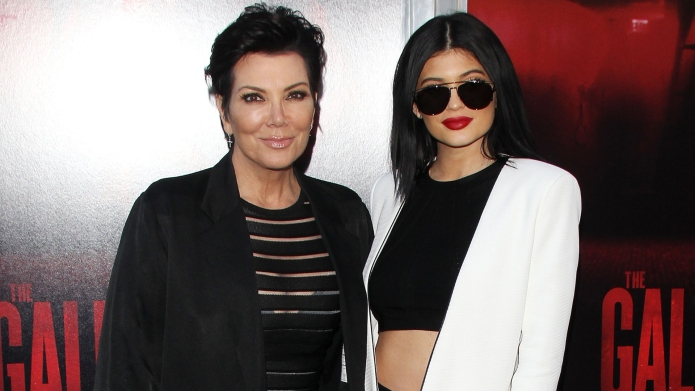 Kris Jenner and Kylie Jenner.