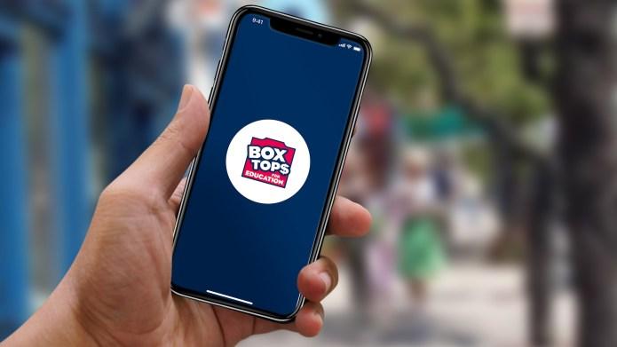 box tops education app