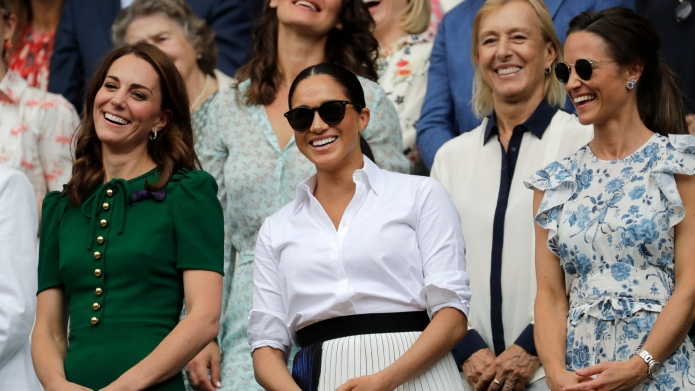 Kate Middleton, Meghan Markle and Pippa