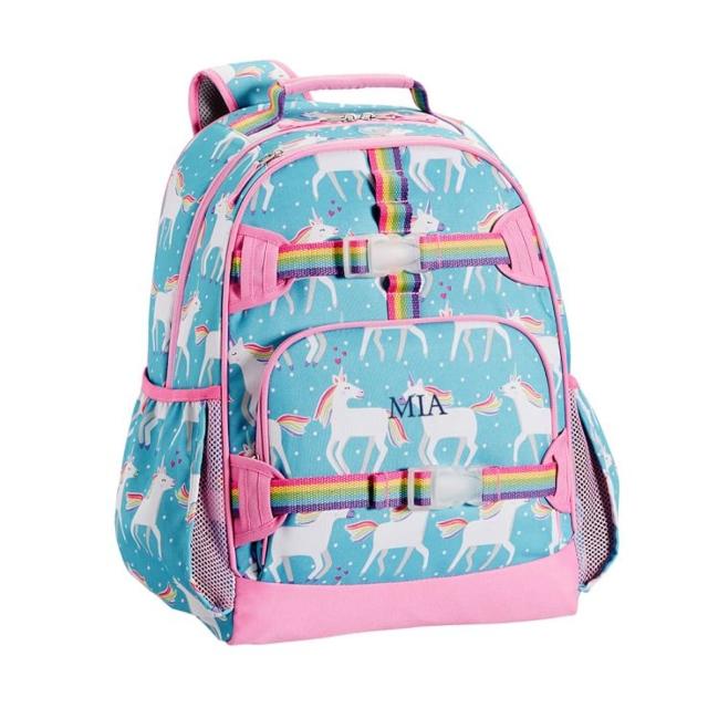 Mackenzie Aqua Unicorn Parade Backpack.