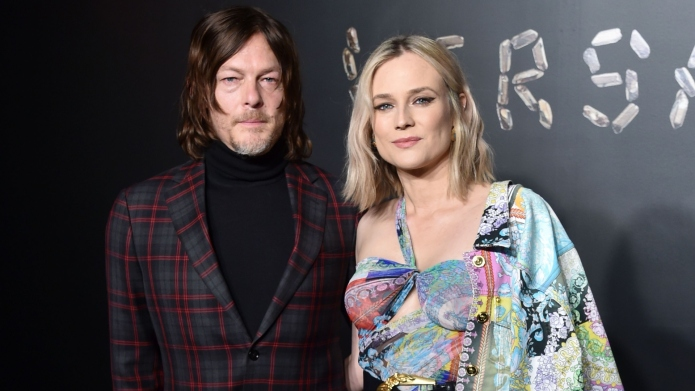 Norman Reedus and Diane Kruger.