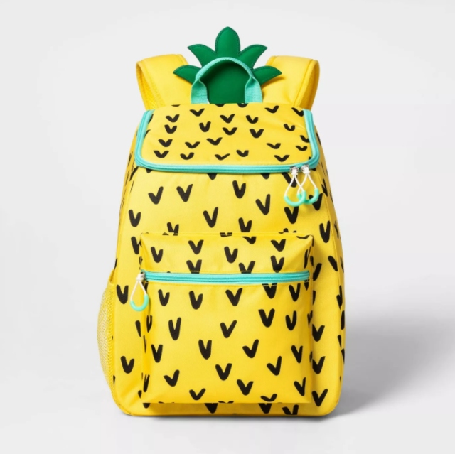 Pineapple Cooler Backpack.