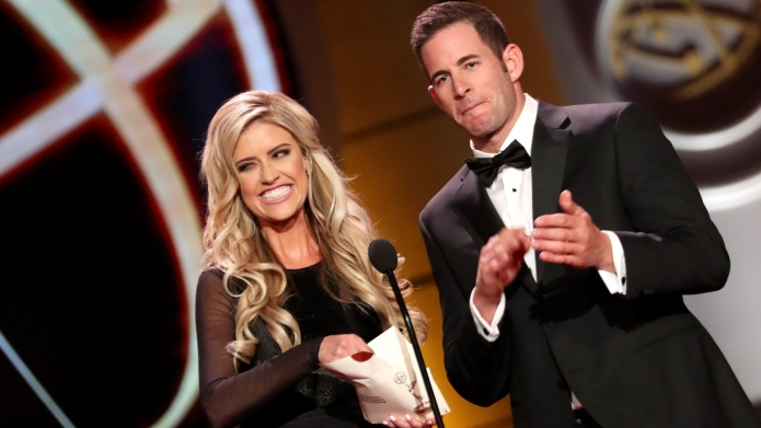 Christina Anstead and Tarek El Moussa.