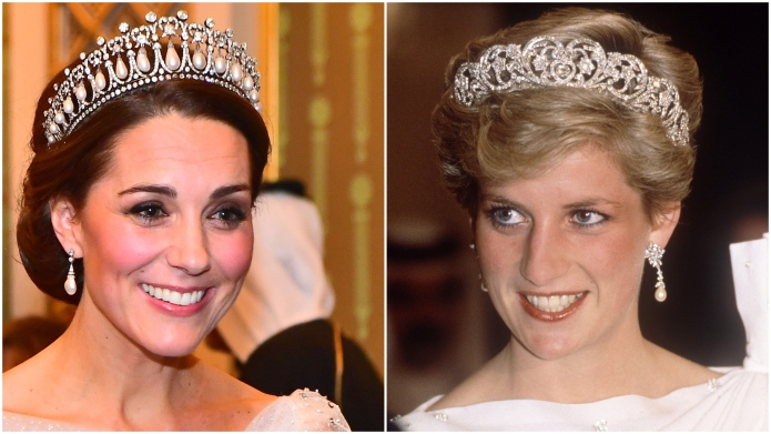 Kate Middleton; Princess Diana.