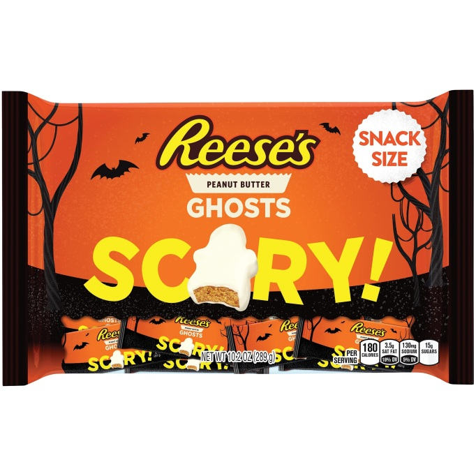 Reese's white chocolate ghosts