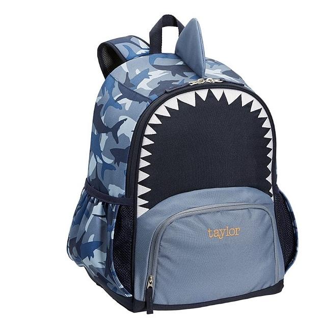 Mackenzie Critter Shark Backpack.