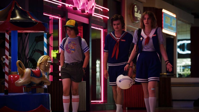 'Stranger Things' scene.