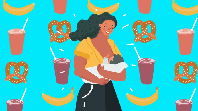 best breastfeeding snacks
