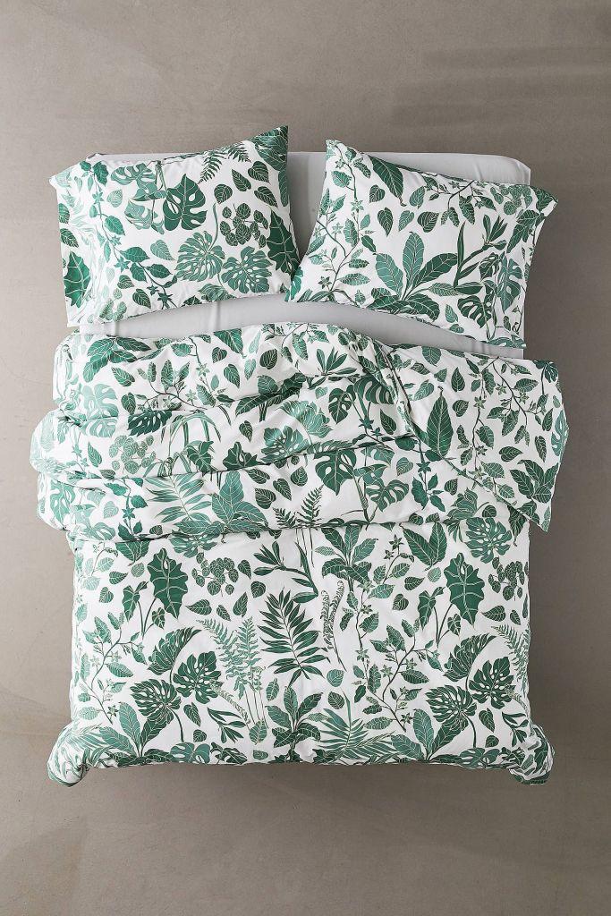 Cute Twin XL Bedding: Urban Outfitters Jungle Duvet Set