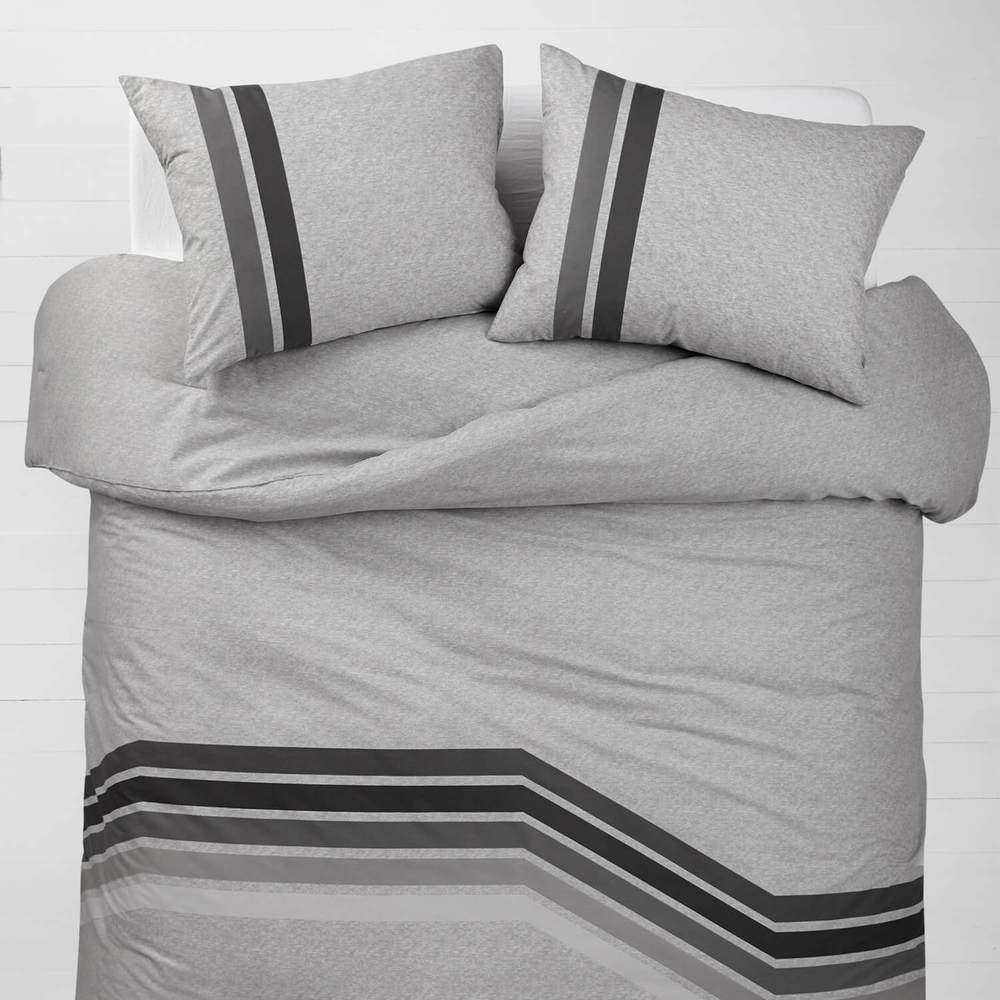 Cute Twin XL Bedding: Venice Stripe Comforter and Sham Set