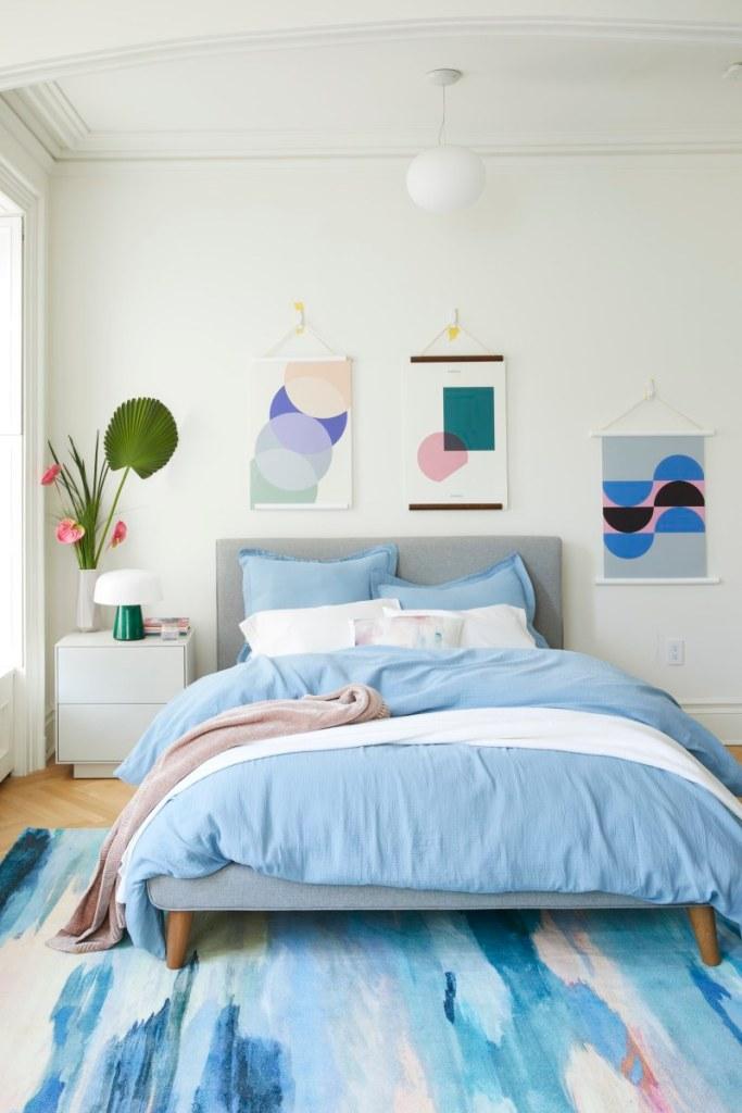 West Elm Bedroom Rental