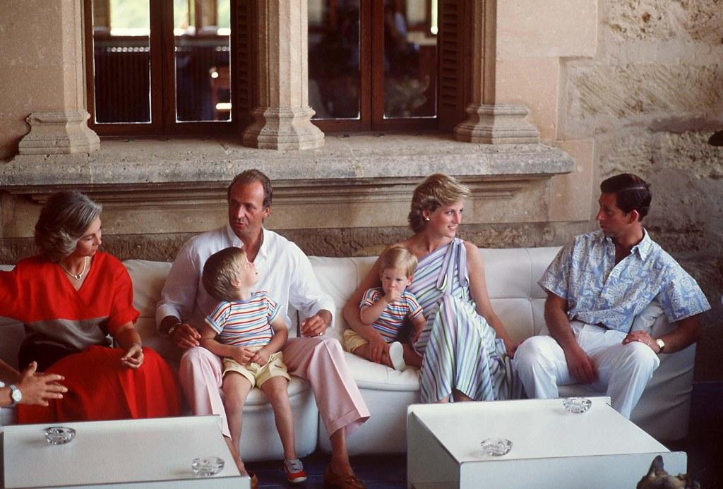 British Royals on Holiday, Maribend Palace, Majorca, Spain - Aug 1986