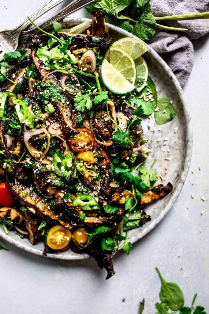 ummer Meatless Monday Recipes: 30-Minute Thai Mushroom Salad