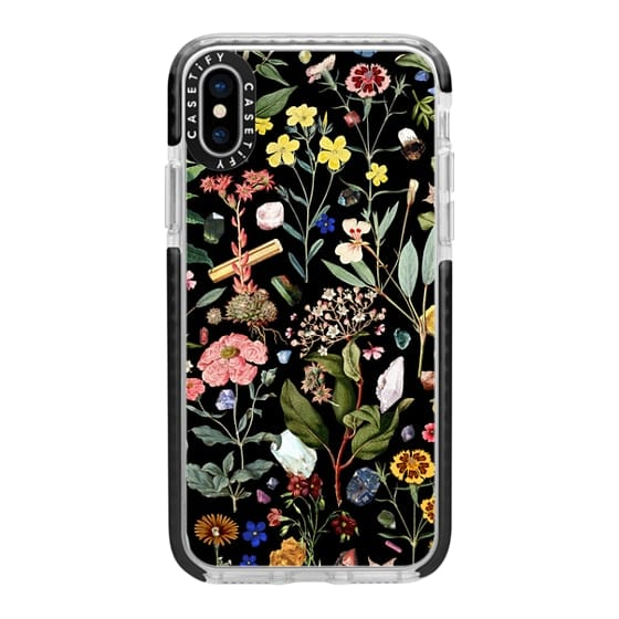 10 Things Every Mom Needs in Her Bag Right Now: Black Floral iPhone Casetify Case