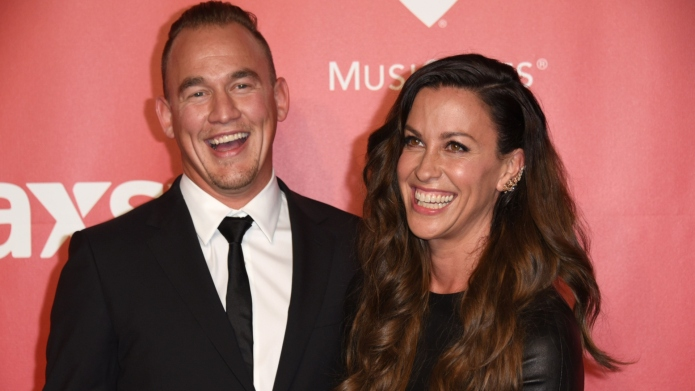 Alanis Morisette Shares Pic of Breastfeeding