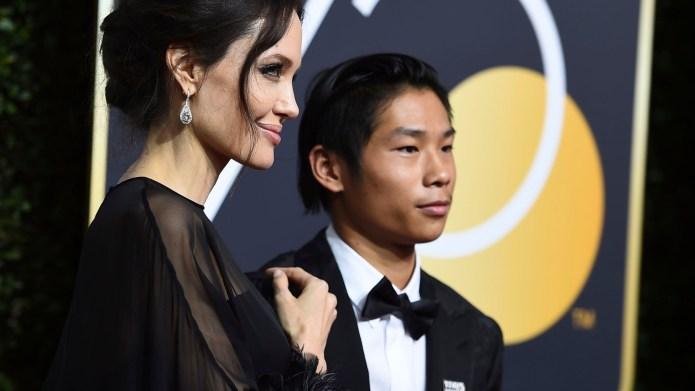 Angelina Jolie Drops Son Maddox Off