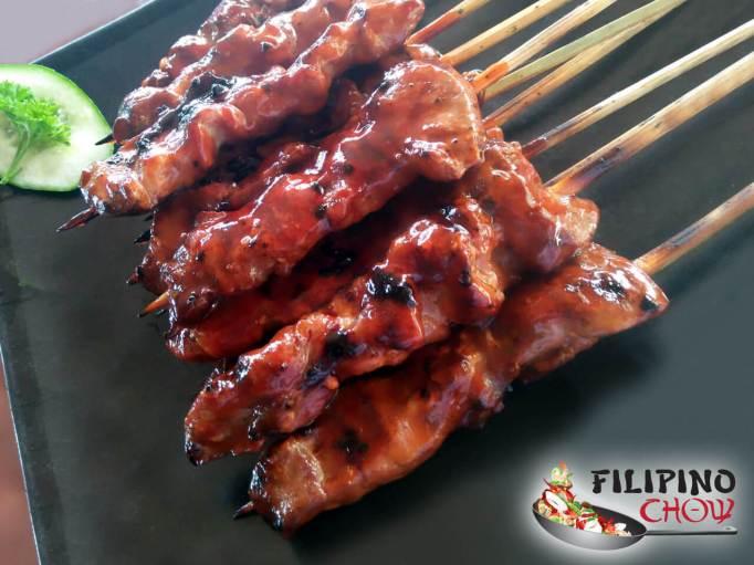 Filipino barbecue chicken