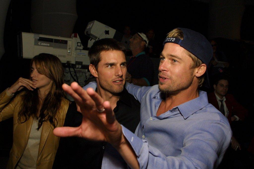 Brad Pitt and Tom Cruise