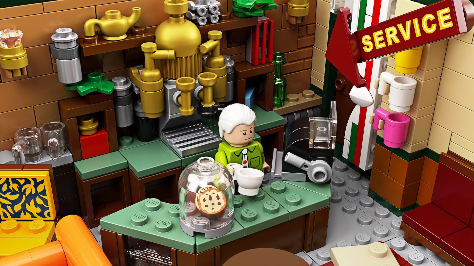 The One Where Lego Created A Friends Central Perk Set
