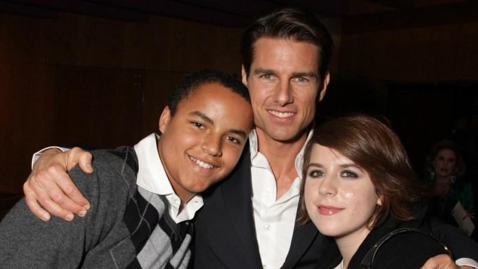 Connor, Bella, Tom Cruise