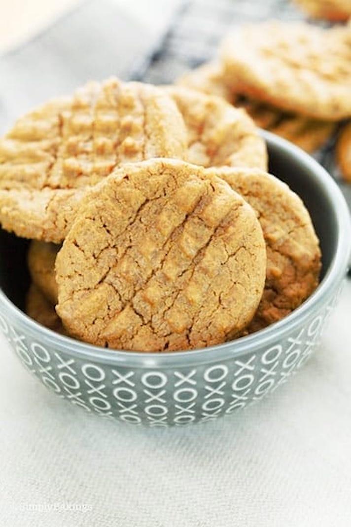 Five-Ingredient SunButter Cookies