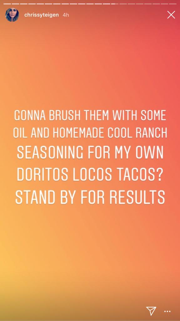 Chrissy Teigen's Taco Hack
