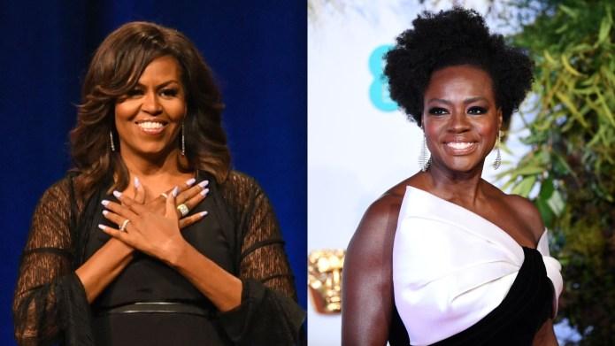 Michelle Obama Viola Davis