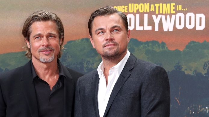 Brad Pitt & Leonardo DiCaprio Get