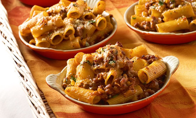 Ina Garten rigatoni with sausage and fennel