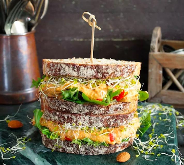 Pimento Spread Sandwich