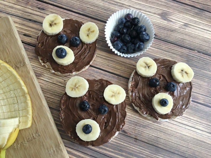 Three Bears Nutella Snacks