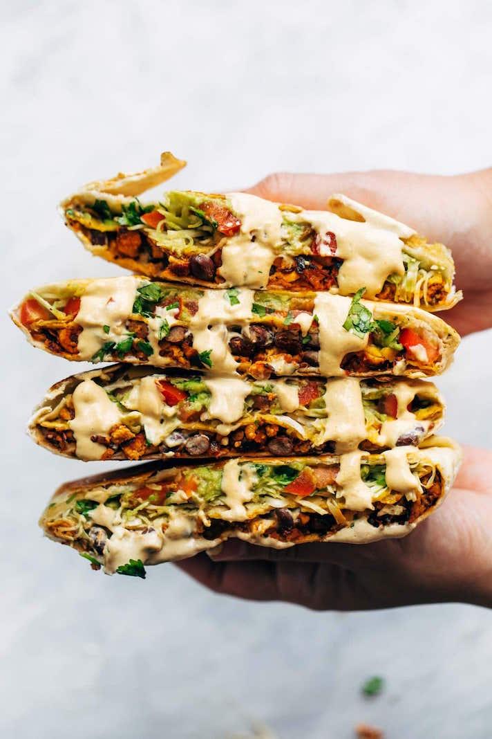 Vegan Crunchwrap