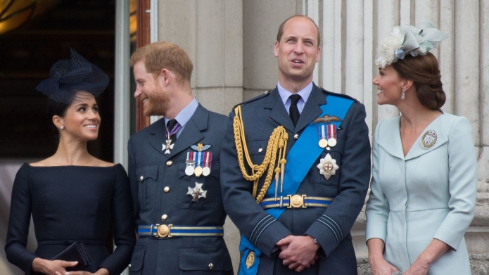 Prince Harry Prince William Meghan Markle