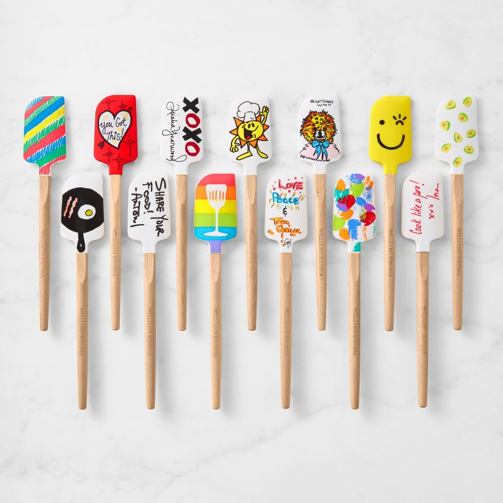 Williams Sonoma celeb spatulas