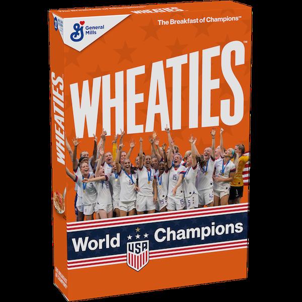 US Women's Soccer Wheaties