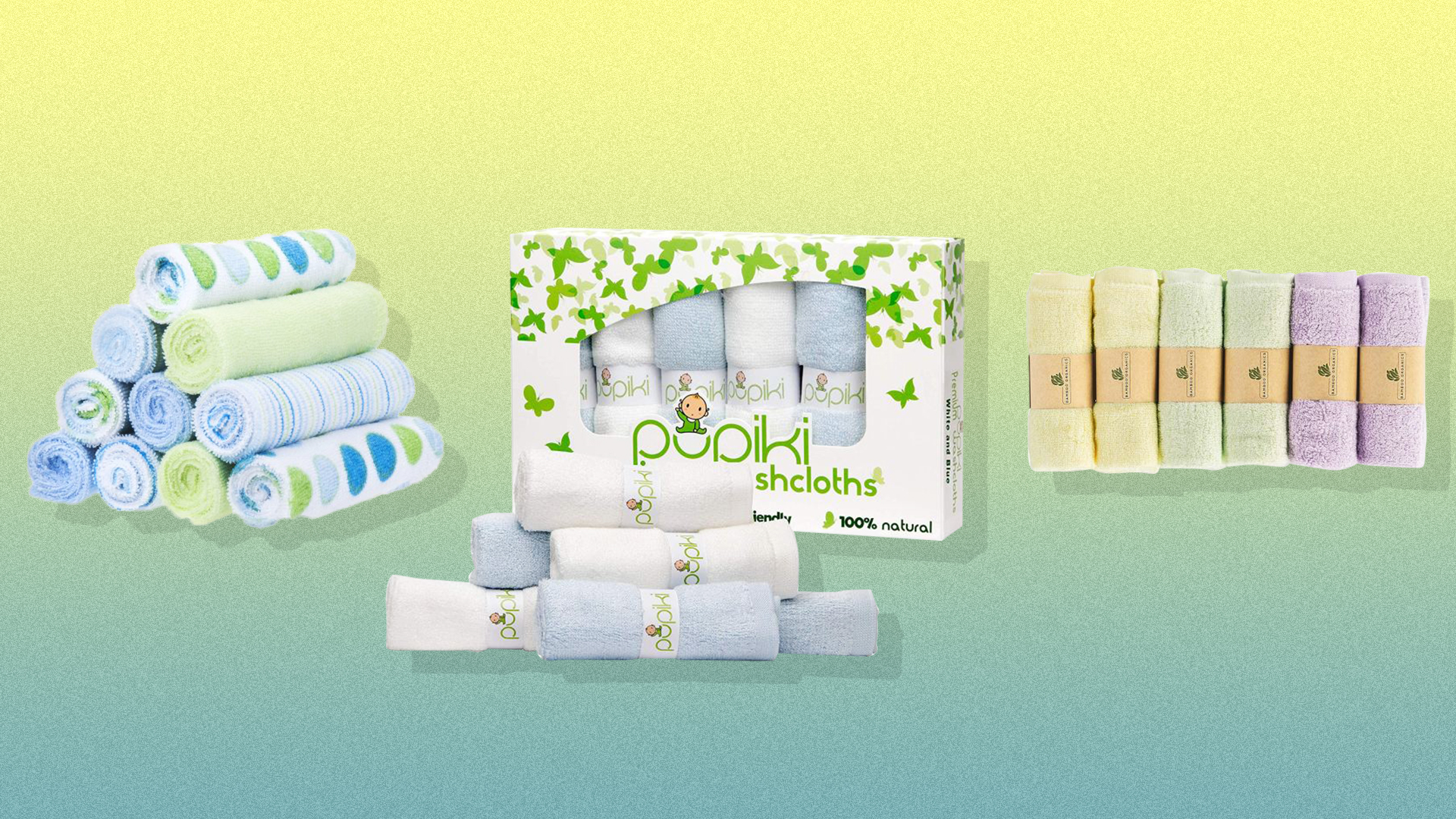 The Softest Baby Washcloths for Your Newest Addition