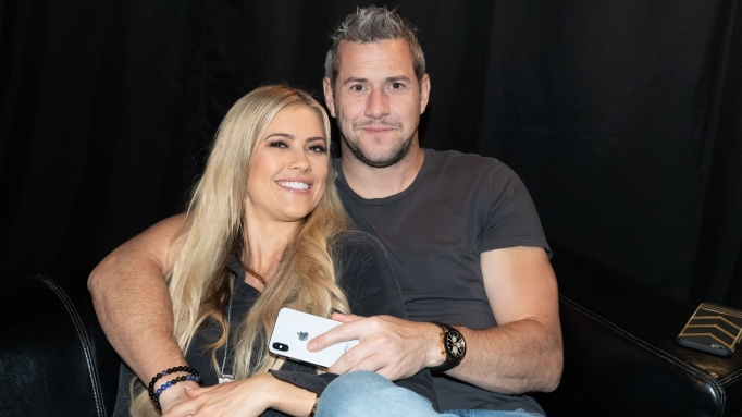 Christina and Ant Anstead.