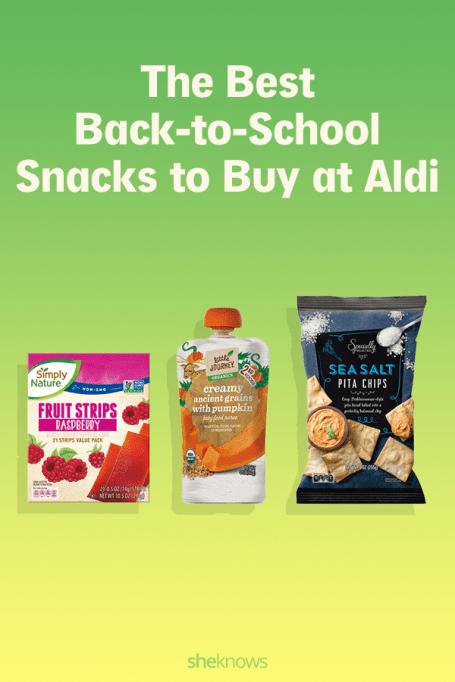 Back-to-School Snacks from Aldi