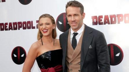 Blake Lively & Ryan Reynolds.