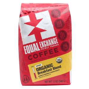 Equal Exchange Organic Ground Coffee, Breakfast Blend