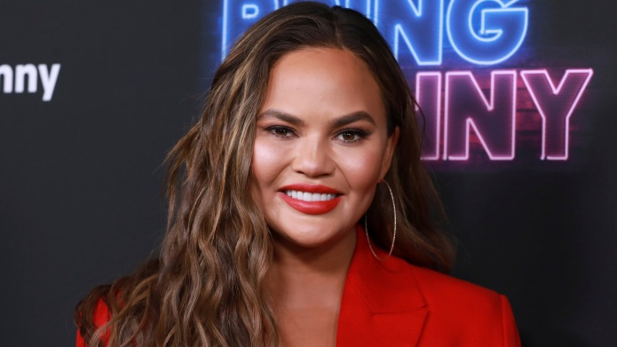 Chrissy Teigen's Son, Miles, Gives His Mama a Kiss for the Very First Time: 'Finally!!'