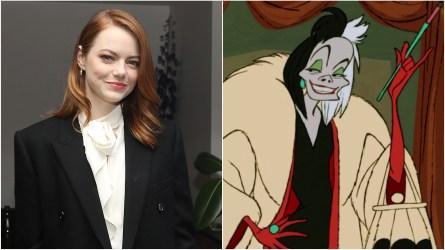 Emma Stone; Cruella.