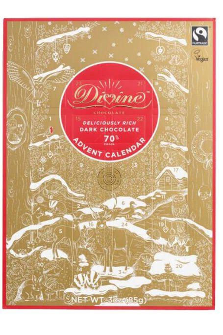 Divine Dark Chocolate Advent Calendar