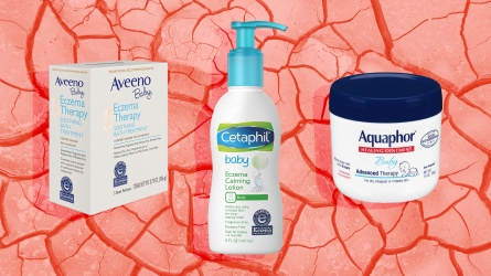 A trio of eczema products