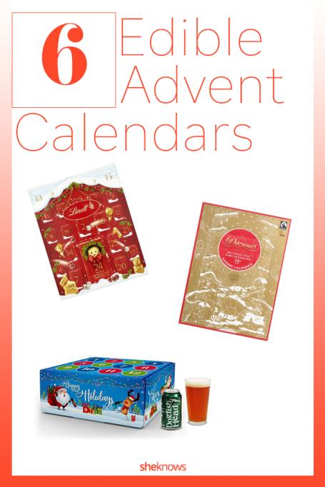 Edible Advent Calendars