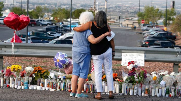 El Paso mass shooting memorial