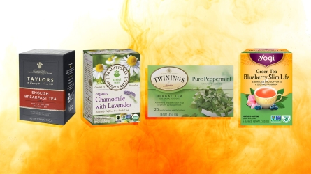 a variety of tea