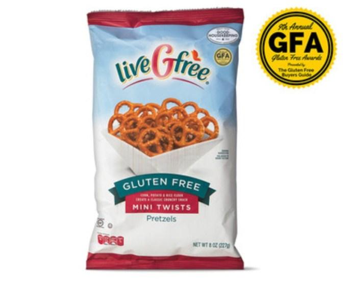 Gluten-Free Mini Pretzel Twists.